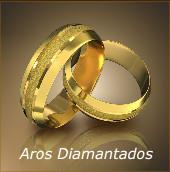 Aros Diamantados para Matrimonio de Trusar